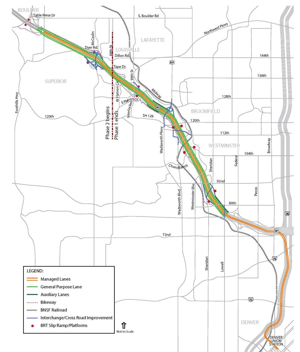 U.S. 36 Managed Lane / Bus Rapid Transit Project: Phase 2