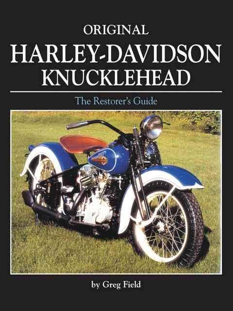 Original Harley-Davidson Knucklehead: The Restorer's Guide -  transportbooks com