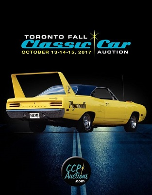 UPCOMING EVENT: The Toronto Fall Classic Car Auction
