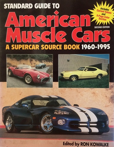 Standard Guide to American Muscle Cars - transportbooks com