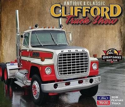 2018 Clifford Antique Truck Show