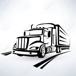 28455783-american-lorry-vector-silhouette-truck-outlined-sketch