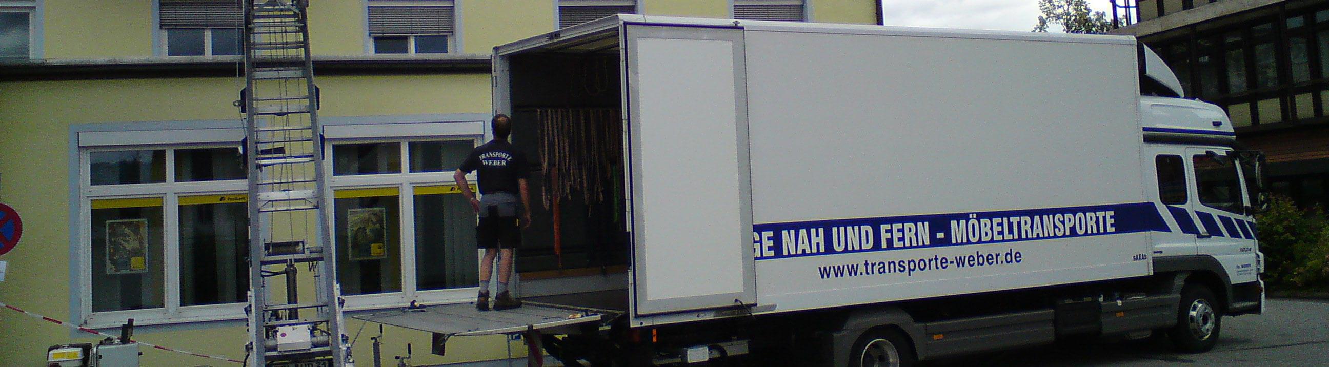 Weber Transporte Und Umzüge Zwischen München Und Salzburg
