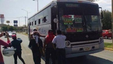 Photo of Toman estudiantes unidades de transporte en Oaxaca