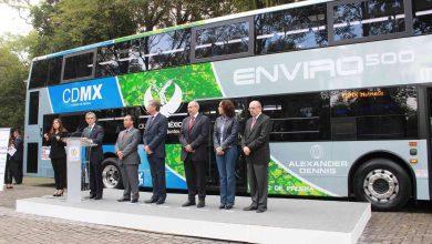 Photo of El metrobus, ahora en paseo de la Reforma