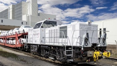 Photo of Audi usa nuevo tren híbrido para el transporte de autos en Europa