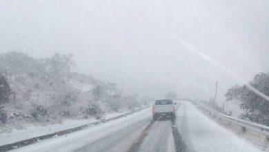 Photo of Seguirán nevadas en carreteras de 16 estados