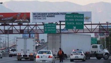 Photo of Sacarán transporte de carga de zona metropolitana de Monterrey
