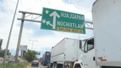 Photo of Transporte de carga no puede entrar a Oaxaca