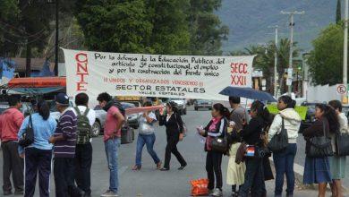Photo of CNTE bloquea 24 puntos carreteros en Oaxaca