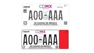 Photo of Nueva imagen en Placas y tarjetas de circulación en la CDMX