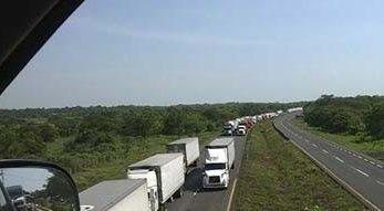Photo of Cumplen con amenaza de bloqueo carretero en el sur de Veracruz