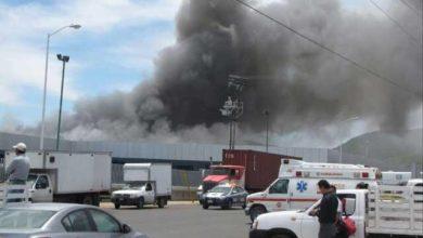 Photo of Se incendió planta de autobuses Irizar