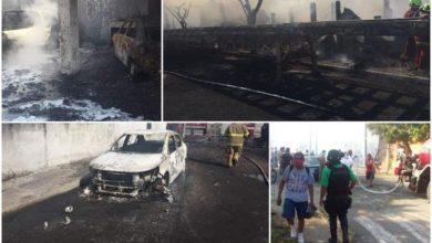 Photo of Explota Almacén clandestino de gasolina
