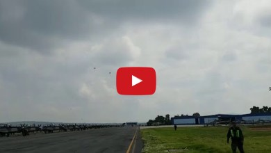 Photo of Captan en video accidente aéreo en base militar de Tecámac