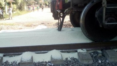 Photo of Roban miles de kilos de arroz de tren de carga en Veracruz
