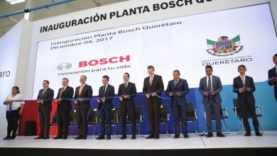 Photo of Bosh inaugura planta automotriz en Querétaro