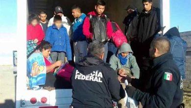 Photo of Rescatan a 29 centroamericanos de un trailer abandonado