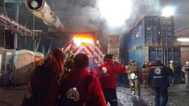 Photo of Incendio en obra del tren interurbano