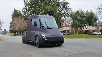 Photo of Quieres ver un Semi de Tesla circulando por las calles?