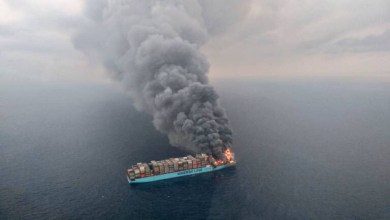 Photo of 4 muertos y 700 contenedores perdidos tras incendio en buque de Maersk