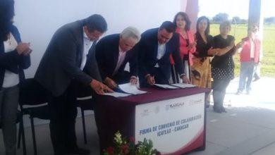 Photo of Firma Canacar convenio de capacitación en Tlaxcala