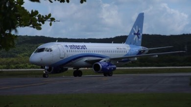 Photo of Confunde Interjet aterrizaje de emergencia con parada técnica en vuelo a Bogotá