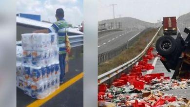 Photo of (Video) Dos accidentes similares en México y Chile, ¿dónde crees que hubo rapiña?