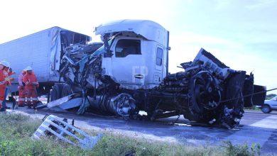 Photo of Impresionante accidente, operador casi ileso