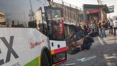 Photo of (Video) Captan accidente en el Mexibús