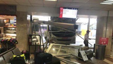 Photo of (Video) Autobús se mete a la sala de espera de Central de Veracruz