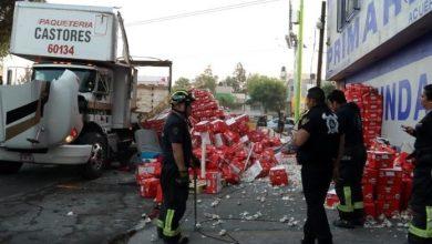 Photo of Torton choca contra escuela en Ciudad de México