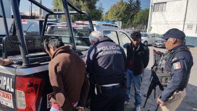 Photo of Atrapan a tres asaltantes de camión de carga en Metepec