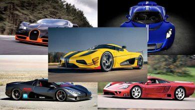 Photo of Los 5 autos más rápidos del mundo