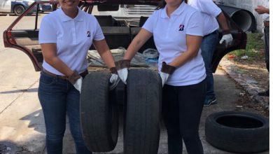 """Photo of Bridgestone implementa """"llantaton"""" en Morelos y planta árboles en Guanajuato"""