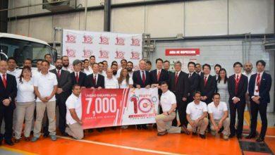 Photo of Isuzu festeja 10 años y 7,000 unidades en México