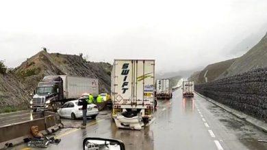 Photo of Tráfico detenido en carretera libre Saltillo a Monterrey: tercer accidente del día