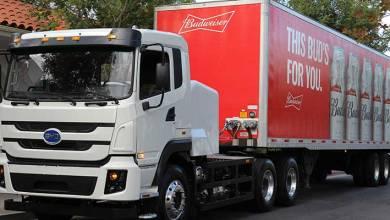 Photo of BYD inicia viajes de cerveza con camiones eléctricos Clase 8