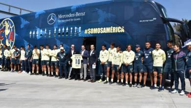 Photo of América estrena autobús Mercedes Benz