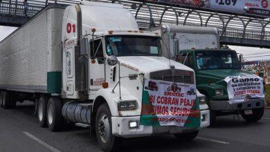 Photo of MegaBloqueo en Guadalajara por cobro al camiones este 15 de enero