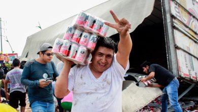 Photo of (Video) Rapiñan camión de cerveza en Chiapas