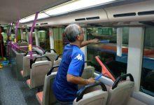 Photo of Así desinfectan Autobuses de transporte público en China para combatir Coronavirus