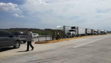 Photo of Asi va el bloqueo carretero de los Yaquis