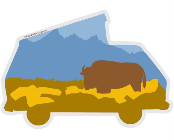 Yellowstone National Park Vanagon