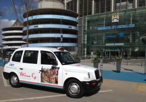 Taxi advertising manchester