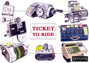 LA001 Ticket to Ride