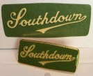 DPE01 Southdown badge and emblem