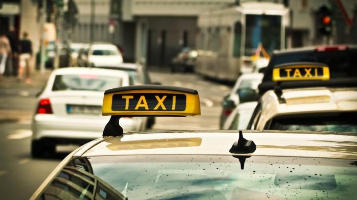 Déplacement en taxi