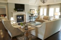 "Award Winning Living Room, ""Before"" and ""After"" 