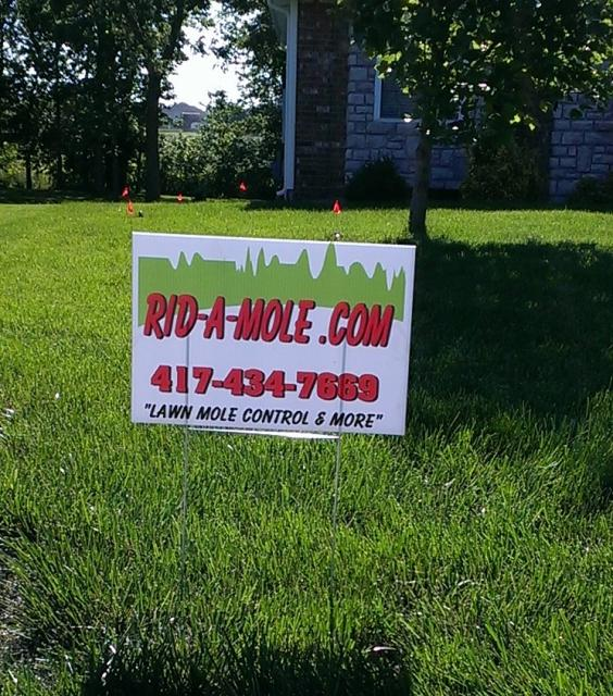 yard signs advertising adc work
